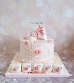 Abbie's Christening Cake