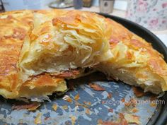 Pita Recipes, Greek Recipes, Cooking Recipes, Cheese Pies, Spanakopita, No Cook Meals, Baked Goods, Food And Drink, Baking