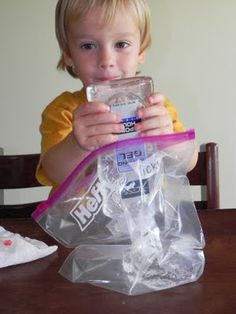 Squishy bag - A tactile/multisensory approach to pre-writing and writing skills