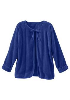 Chenille bed jacket by Only Necessities® | Plus Size Holiday Shop | Woman Within