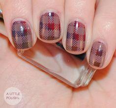 Twinsie Tuesday: Grunge Nails - A Little Polish