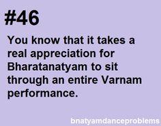Bharatanatyam dance problems
