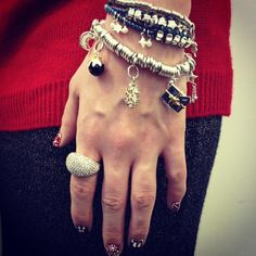 It's a festive #LinksFridayStyle! Hope Ring, Limited Edition Christmas Friendship, Sweetie XS and our popular Sweetie bracelet with our Christmas charm selection!