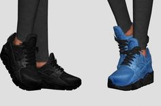 Yayasimblr's sneakers recolors at Elliesimple • Sims 4 Updates