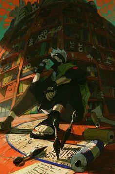 Naruto Kakashi, Anime Naruto, Fan Art Naruto, Manga Anime, Naruto Shippuden Anime, Boruto, Manga Art, Wallpaper Naruto Shippuden, Naruto Wallpaper