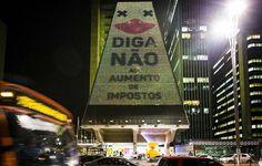Fiesp perde autorização para fazer projeções na Av. Paulista