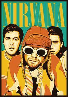 Min.order is $10(mix order)Exclusive Nirvana Kurt Cobain Waterproof Computer Stickers Personalized laptop sticker[Single]