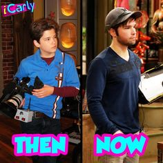 Okay, he was the technical producer of icarly and now he hot the promotion to director of Henry danger (i said 4 fun) Celebrities Then And Now, Cute Celebrities, New Disney Shows, Icarly And Victorious, Nathan Kress, I Started A Joke, Drake And Josh, Nickelodeon Shows, World Tv