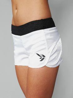 Outta My Way White Run Short   Sportswear   Gym Wear   Womens Sportswear   MissFit Sportswear