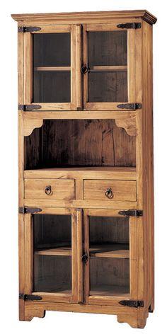 Diy Home Furniture, Diy Pallet Furniture, Wood Furniture, Furniture Design, Wood Bench Plans, Antique Kitchen Decor, Wood Cabinets, Decoration, Tall Cabinet Storage