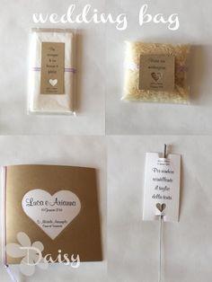 Luca e Arianna: wedding bags Wedding Bag, Bago, Place Cards, Place Card Holders, Google