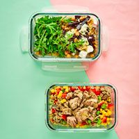 <p>Try our delicious, healthy packed lunch ideas. Choose from pasta or rice salads, homemade protein pots, hearty soups or filling wraps and sandwiches.</p>