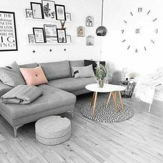 82 gorgeous scandinavian interior design ideas you should know page 19 Scandi Living Room, Living Room Grey, Home Living Room, Interior Design Living Room, Living Room Designs, Living Room Decor, Scandinavian Interior Design, Living Room Inspiration, Scandi Style