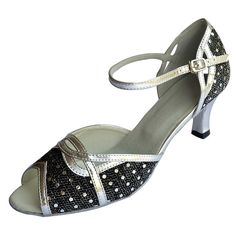 Jig Foo Sandals Open-toe Latin Salsa Tango Ballroom Dance Shoes for Women with 2.2' Heel >>> You can find more details by visiting the image link.