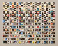 There's no shortage of photos of objects laid out in neat columns online, but I feel Jim Golden's work still deserves a special mention. I love the one with all the cassette tapes the best.According to PDN, only one of the photos was commissioned, everything else was a labor of love. Neatness-obsessed pack rats of […]