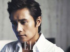 LEE BYUNG HUN IN ELLE KOREA'S AUGUST 2013 ISSUE