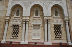 DXB Dubai Jumeirah Beach - Jumeirah Mosque facade detail 3008x2000