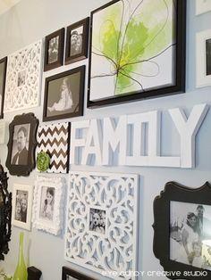 Eye Candy Creative Studio: HOME | MADE :: How To Create a Gallery Wall