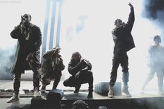 blind-threats:2 Chainz, Big Sean, Kanye West, Travi$ Scott, & Pusha T