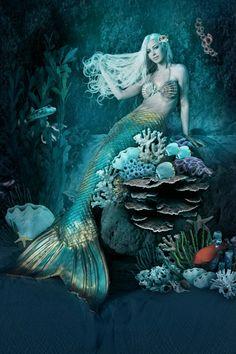 Beauty Below the Sea by Alexandria Lanier