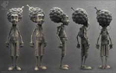 Shelltoes by Christian Johnson | Caricature | 3D | CGSociety