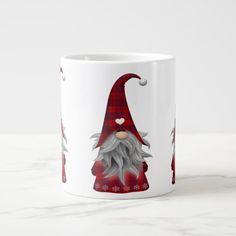 Christmas Gnome Mug Christmas Coffee, Christmas Gnome, Red Christmas, Funny Christmas, Christmas Ideas, Cute Mugs, Funny Mugs, Holiday Cards, Christmas Cards
