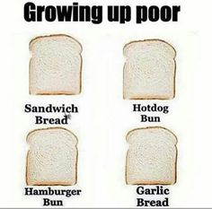 😂😂💯 ONLY A FEW WOULD UNDERSTAND. AIN'T KNOW YOU USED DIFFERENT LOAVES OF 6READ UNTIL I GOT IN MY TEENAGE YRS. YEAH THE STRUGGLE WAS REAL. S/O TO MY OG & 6IMMOMMA FOR MAKING,IT LOOK SO EASY😘😍💯. #FLYHIGH6IGMOMMA