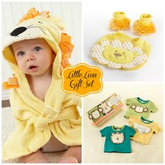 """Little Lion"" Baby Gift Set"