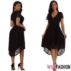 😍🖤Asimetrie trendy într-o ținută șic: High Low, Spandex, Casual, Dresses, Fashion, Vestidos, Moda, Fashion Styles, The Dress