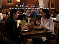 Everyone needs a study motivation ... mine is Rory from Gilmore Girls (and Hermione, of course).