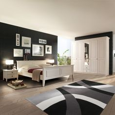 wohnideen schlafzimmer on pinterest bedroom pictures. Black Bedroom Furniture Sets. Home Design Ideas