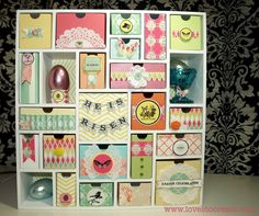 Easter Countdown using Silhouette Advent Calendar along with hybrid printouts from Rhonna Designs. By Nancy Wyatt at lovestocreate.com More photos available at linked blog post.