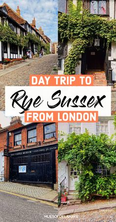 Wondering what are the best things to do in Rye England? Well this one day in Rye itinerary. Will help you find things to do, what to see, where to stay, Best Rye photography, Things to do in Rye East Sussex, what food to eat, and more important information for your travels to Rye East Sussex. Everything you'll in to know what to do in Rye in one day. Day trip to Rye from London THINGS TO DO IN RYE ENGLAND Scotland Travel Guide, Europe Travel Guide, Travel Destinations, Traveling Europe, Travel Plan, Travel Advice, Travel Ideas, Day Trips From London, Things To Do In London