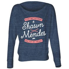 Go see @shawnmendes' Best Mistake Long Sleeve Shirt