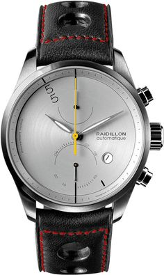 Raidillon Watch Design Chronograph Limited Edition #add-content #bezel-fixed #bracelet-strap-leather #brand-raidillon #case-material-steel #case-width-42mm #chronograph-yes #date-yes #delivery-timescale-call-us #dial-colour-grey #gender-mens #limited-edition-yes #luxury #movement-automatic #new-product-yes #official-stockist-for-raidillon-watches #packaging-raidillon-watch-packaging #power-reserve-yes #style-dress #subcat-design #supplier-model-no-42-c10-127…