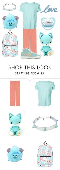 Pastel Little Boy by lilcuriosity ❤ liked on Polyvore featuring Gucci, Orlebar Brown, Nintendo, NIKE, mens fashion, menswear, cgl, mdlb and ddlb