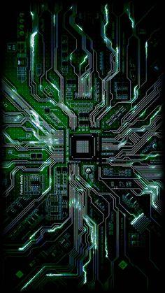 chip wallpaper by Unconscious_creature - 62 - Free on ZEDGE™ Computer Wallpaper Hd, Techno Wallpaper, Android Phone Wallpaper, Hacker Wallpaper, Phone Wallpaper Design, Wallpaper Space, Red Wallpaper, Apple Wallpaper, Galaxy Wallpaper