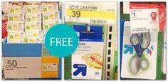 Free School Supplies at Target!