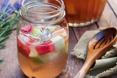"""lululemon """"skinny sangria"""" recipe...for after the bar of course!"""