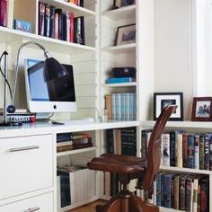 Small Space Guest Room-Study
