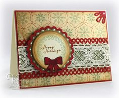 Card made with Christmas in the Air stamp set