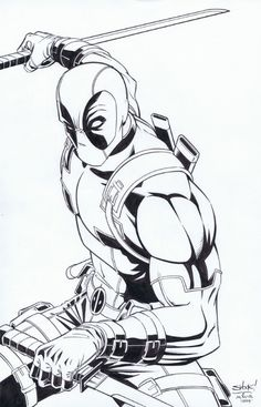 Deadpool by Mathew  Shockley