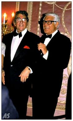 Happy Birthday Cary Grant - January 18 , 1904 shown here with Dean Martin