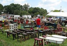 The World's Longest Yard Sale - Highway 127 Sale... every year in early August