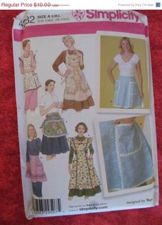 On Sale UnCut 2006 Simplicity Sewing Pattern 4282 by EarthToMarrs, $8.00