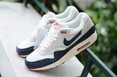 110ccf90c728cf Nike Air Max 1 OG Vintage Dark Obsidian Neutral Grey Summer 2013