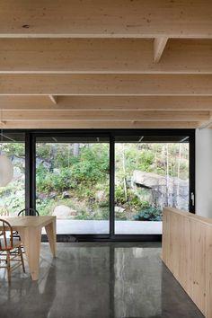 The Rock: A Home Built into a Mountain by Atelier Général - Design Milk