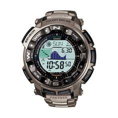 Reloj Casio Pro Trek PRW-2500T-7ER de titanio   Joyeria Oliva Design