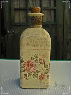 Rosas y lilas/tutoriales: Decoupage