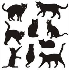 Image result for cat silhouette template